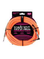 Ernie Ball 6084 Cavo Braided Neon Orange