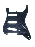 Fender Standard Stratocaster Pickguard- Engine Turned Black 0991379000