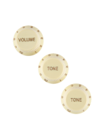 Fender 0992008000 Knobs for Startocaster Aged White