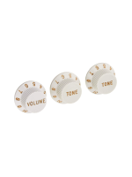 Fender Knobs Strat White