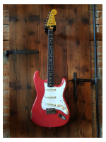 Fender 63 Stratocaster Relic Fiesta Red 2019