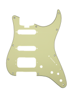 Fender Pickguard HSS Elite Strat Mint Green