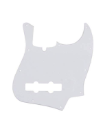 Fender Pickguard white for jazz bass 1 ply 0991336000