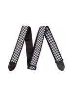 Fender Strap 2 nyl checkerb Black