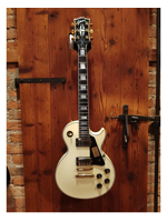 Gibson 1974 Les Paul Custom Reissue Vos Classic Vintage White