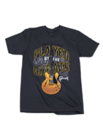 Gibson T-shirt Played by the greats (charcoal)