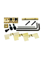 Gotoh GHL-2 Gold Luking Nut