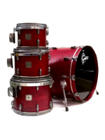 Gretsch Broadkaster 4-Shell Fusion Drumset in Satin Rosewood