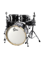 Gretsch GB-E8246-SDE - Brooklyn 4-Pcs Drumset in Satin Dark Ebony