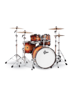 Gretsch RN2-E8246 - Renown Maple 4-Pcs Drumset In Satin Tobacco Burst