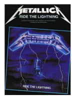 Hal Leonard Metallica Ride the Lighting