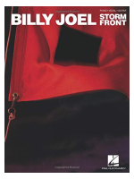 Hal Leonard Billy Joel - Storm Front: Additional Editing And Transcription By David Rosenthal