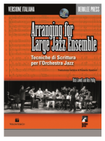 Hal Leonard Arranging for Large Jazz Ensemble