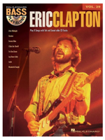 Hal Leonard Bass Play Along ERIC CLAPTON