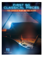 Hal Leonard First 50 Classical Pieces