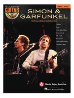 Hal Leonard Guitar Play Along simon & Garfunkel