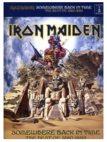 Hal Leonard Iron Maiden: Somewere Back In Time