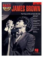 Hal Leonard James Brown Bass play along + CD