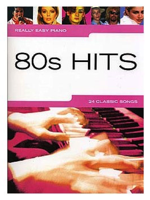 Hal Leonard Really easy piano 80's hits