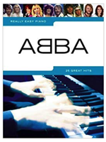 Hal Leonard Really easy Piano ABBA
