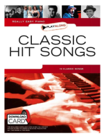 Hal Leonard Really easy piano Classic Hit Songs