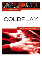 Hal Leonard Really Easy Piano Coldplay