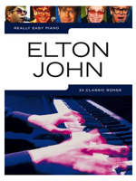 Hal Leonard Really Easy Piano Elton John