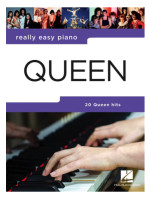 Hal Leonard Really Easy Piano Queen Updated