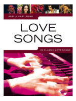Hal Leonard Really easy pino Love songs