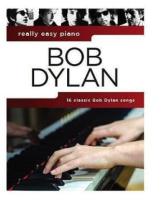 Hal Leonard Relly Easy Piano Bob Dylan