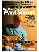 Hal Leonard The chord Songbook  PAUL SIMON