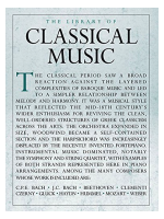 Hal Leonard The Library Of Classical Music