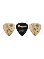 Ibanez B1000PG30G Blister 3 Picks Gold & Black