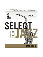 La Voz Select Jazz Alto Saxophone Reeds Filed 3 Soft