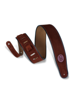 Levys MSS3 Suede Guitar Strap Brown