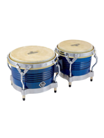 Lp M201-BLWC Matador Bongos, Blue/Chrome Hardware