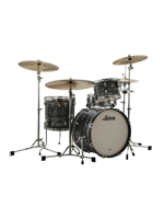 Ludwig Downbeat Classic Maple FAB Shell Pack in Vintage Black Oyster