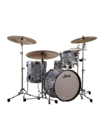 Ludwig L84023AX52 - Downbeat Classic Maple Shell Pack in Sky Blue - Expo