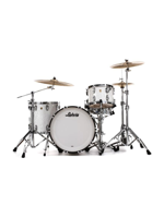 Ludwig Classic Maple FAB Shell Pack in White Marine Pearl