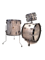 Ludwig Set di Batteria Classic Maple in White Marine Pearl