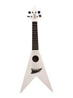 Mahalo Flying V White