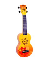 Mahalo MA1HBORB Hibiscus Orange Burst