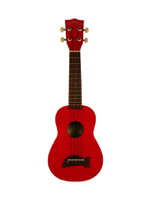 Makala MK-SD/CAR Ukulele Soprano Candy Red
