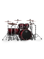 Mapex SV628XB-KLE Saturn V MH Exotic Studioease 5-Piece Shell Pack In Cherry Mist Maple Burl