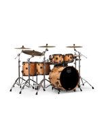 Mapex SV628XB-MNL Saturn V MH Exotic Studioease 5-Piece Shell Pack In Amber Maple Burl