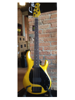 Music Man StingRay 5 H Rw Matched Firemist Gold