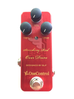 One Control  Strawberry red over drive