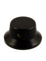 Parts MK-0141-003 Bell Knob Stratocaster style , Black