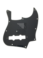 Parts Pickguard Black Jazz Bass