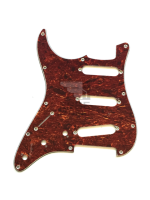 Parts Pickguard tortoise/White/Black Mancino for strato